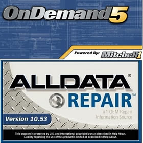 Newest Auto Repair Software Alldata 10.53 + Autodata 3.38 +2014 Mitchell On Demand in 750GB HDD