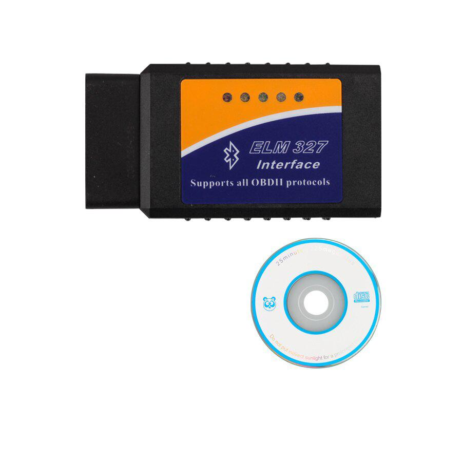 ELM327 Bluetooth Software OBD2 CAN-BUS Scanner Tool Software V2.1