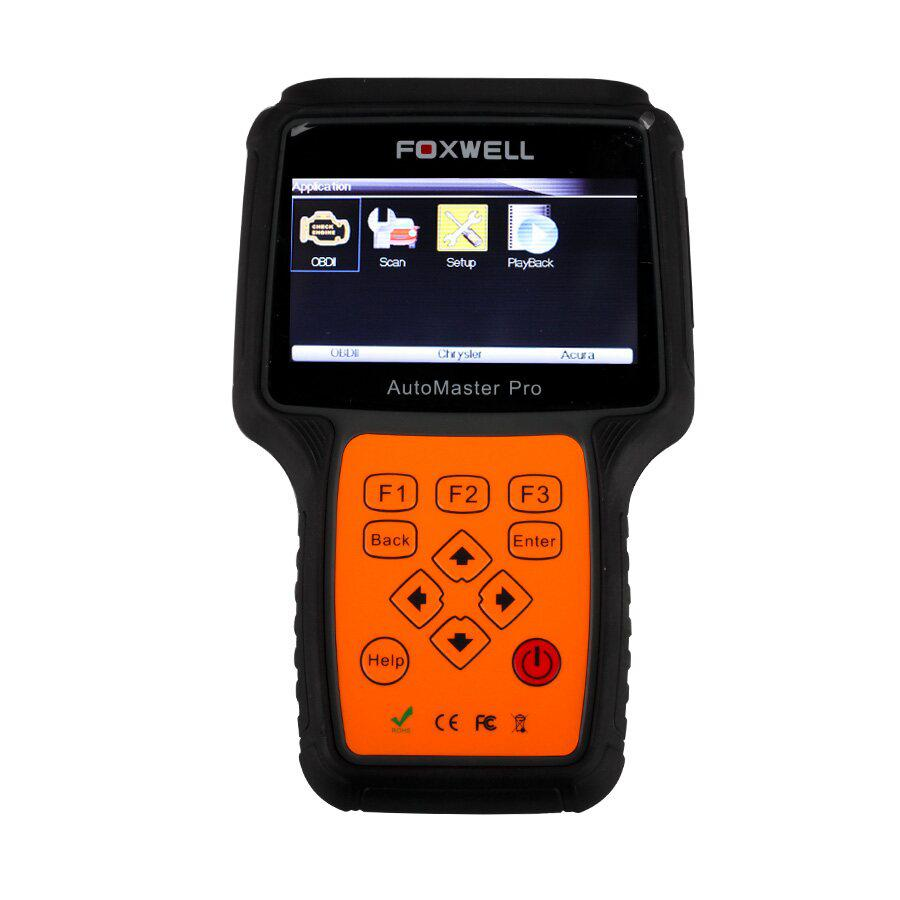 New Foxwell NT612 AutoMaster Pro European Makes 4 Systems Scanner