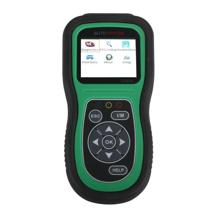 YD509 OBDII EOBD CAN Auto Code Scanner Support Multi-languages