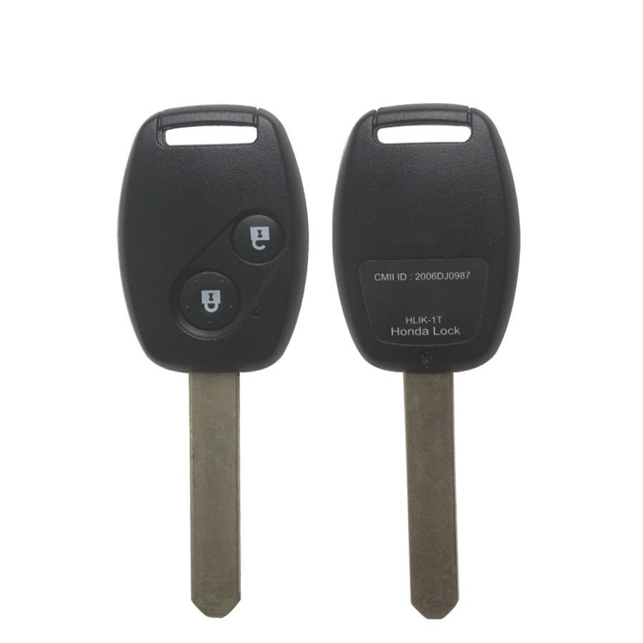 2005-2007 Remote Key 2 Button And Chip Fit ACCORD And CIVIC ODYSSEY for Honda