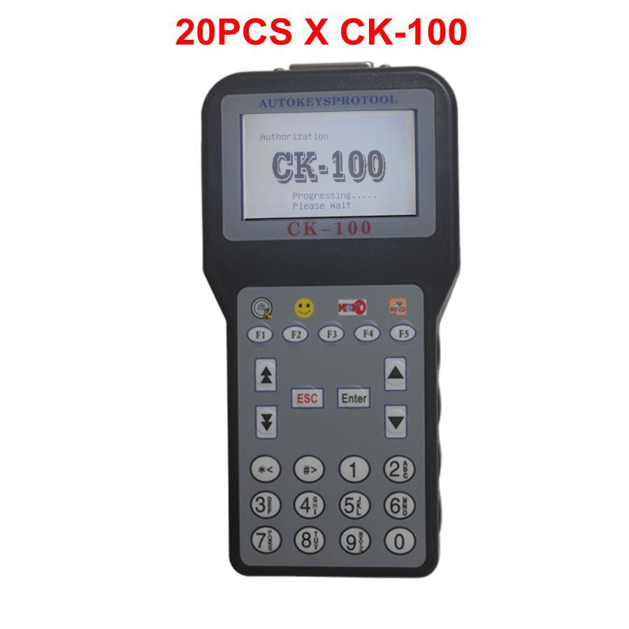 20PCS/lot CK-100 Auto Key Programmer CK 100 V46.02 SBB The Latest Generation