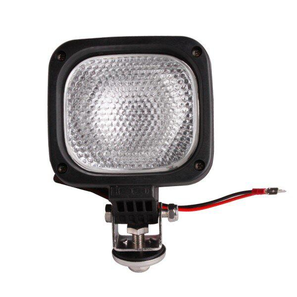 75W HID Full Beam Work Lights Xenon For ractor,Truck And Boat 12V 24V 6000K