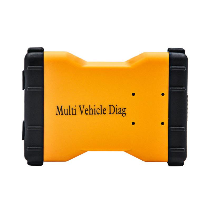 Promotion 2015.3 New TCS CDP+ Multi Vehicle Diag Yellow Version Without Bluetooth