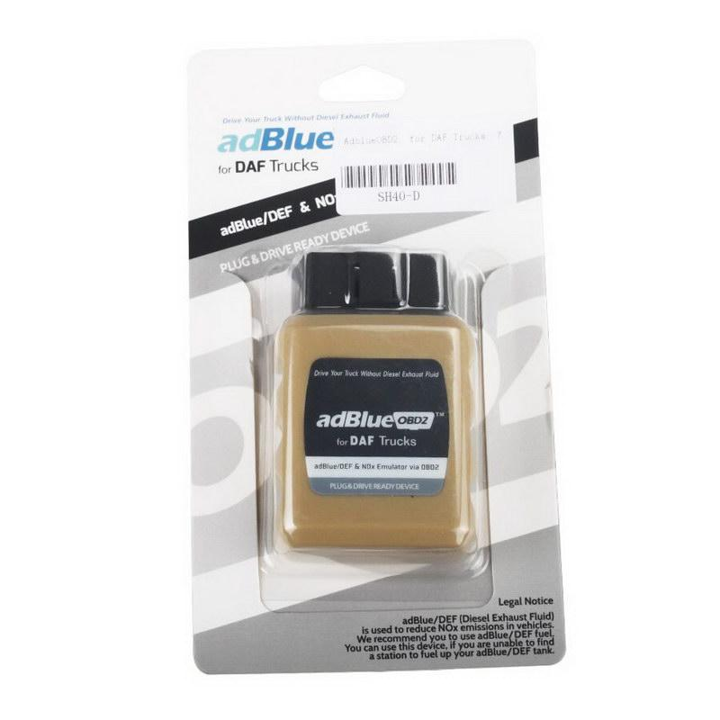 Adblue OBD2 Emulator For DAF Trucks  Verride AD-Blue System Instantly