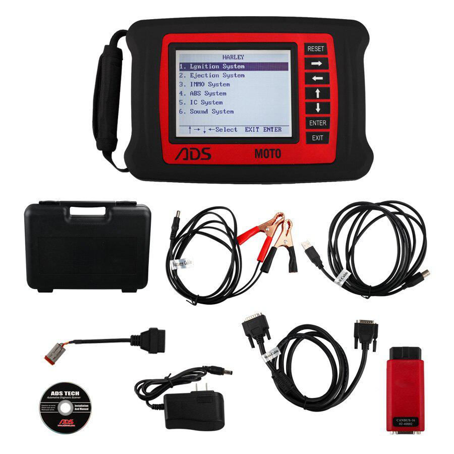 ADS MOTO-H Harley Motorcycle Diagnostic Tool Update Online