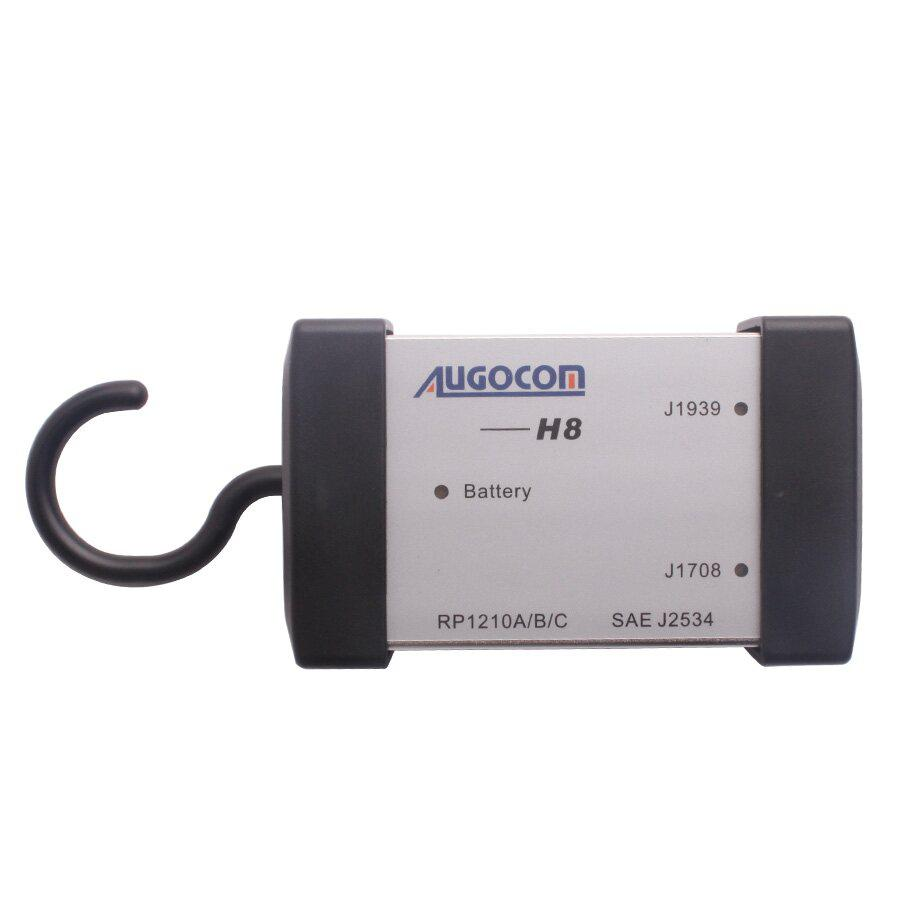 AUGOCOM H8 Truck Diagnostic Tool PC-to-Vehicle Interface Easy Portability Increases Flexibility