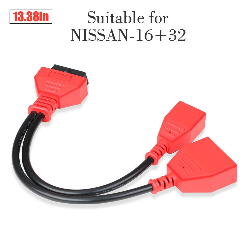 Autel 16+32 Gateway Adapter for Nissan Sylphy Key Adding No Need Password Work with IM608 IM508