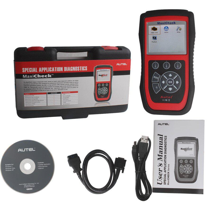 Autel MaxiCheck Airbag/ABS SRS Light Service Reset Tool One Year Free Update