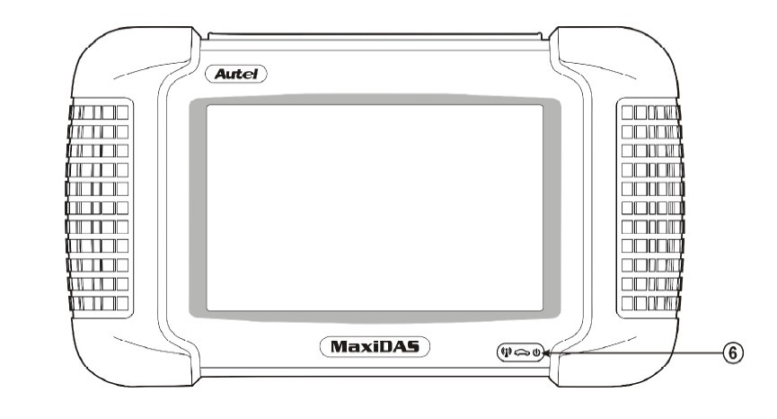 Maxidas DS708 Screen
