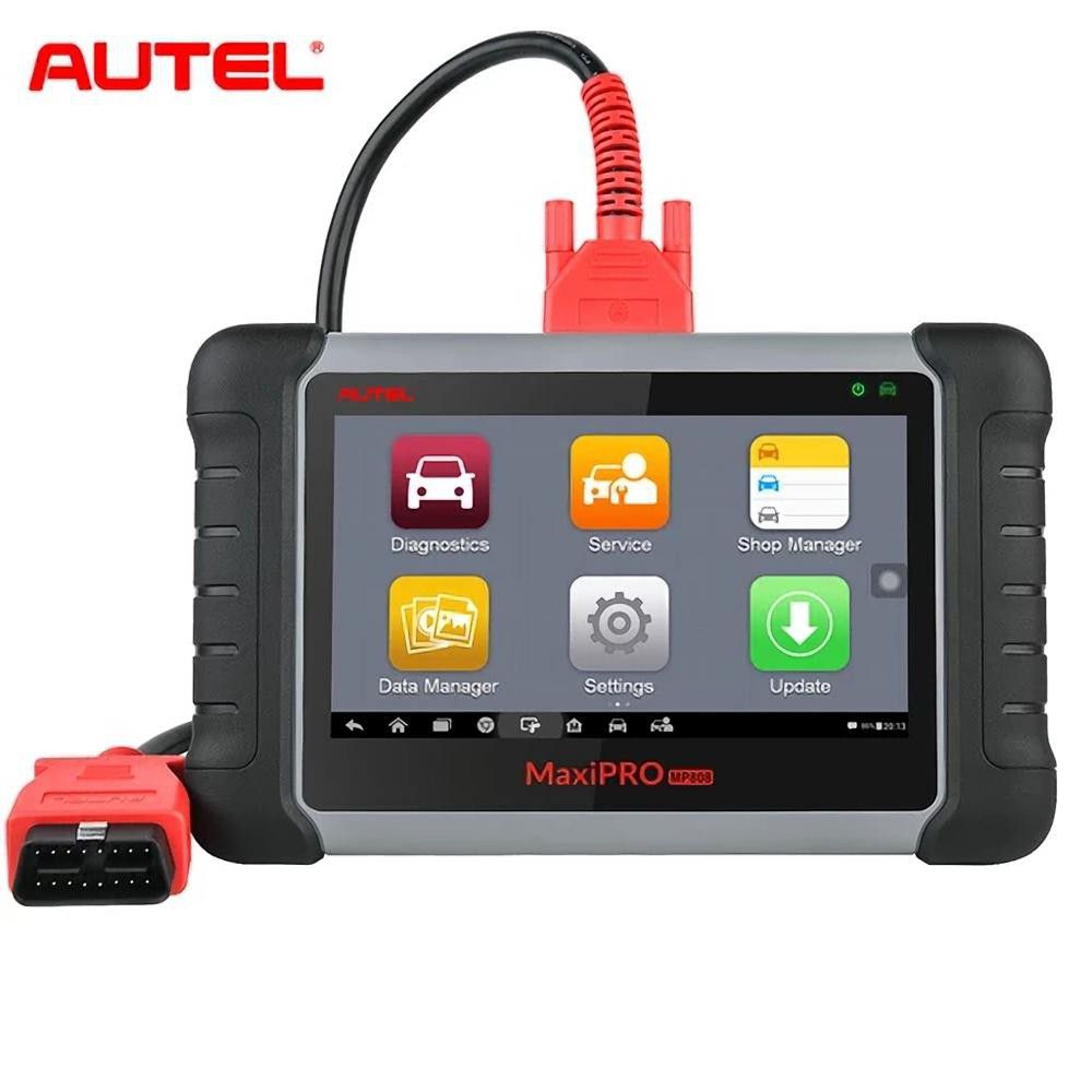 Autel MaxiPro MP808K with OE-Level All Systems Diagnosis Support Bi-Directional Control Key Coding with Complete OBDI Adapters (Same as DS808K)