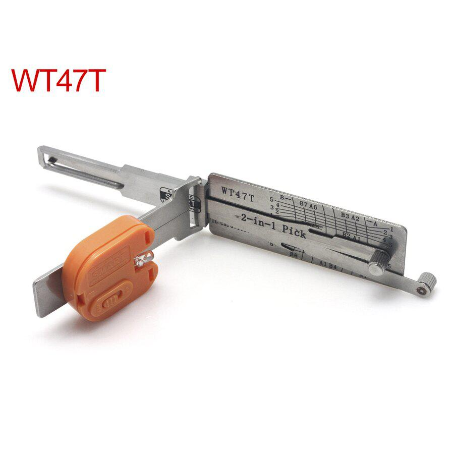 Auto Smart WT47T 2in1 Decoder And Pick Tools For SAAB