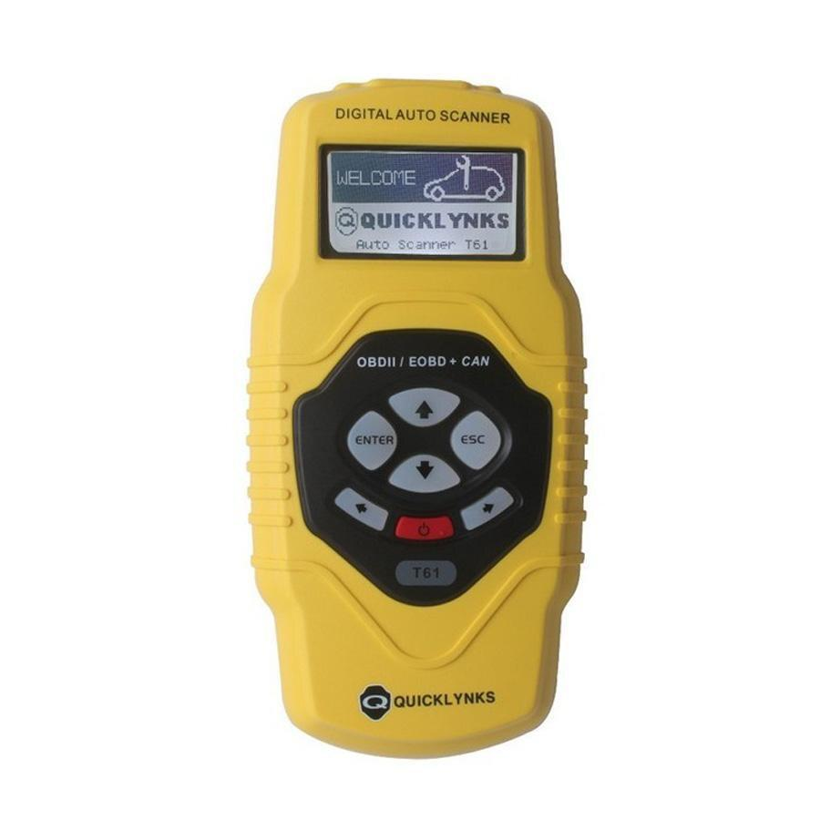 CAN OBD2/EOBD Code Scanner T61 Multilingual and Updatable