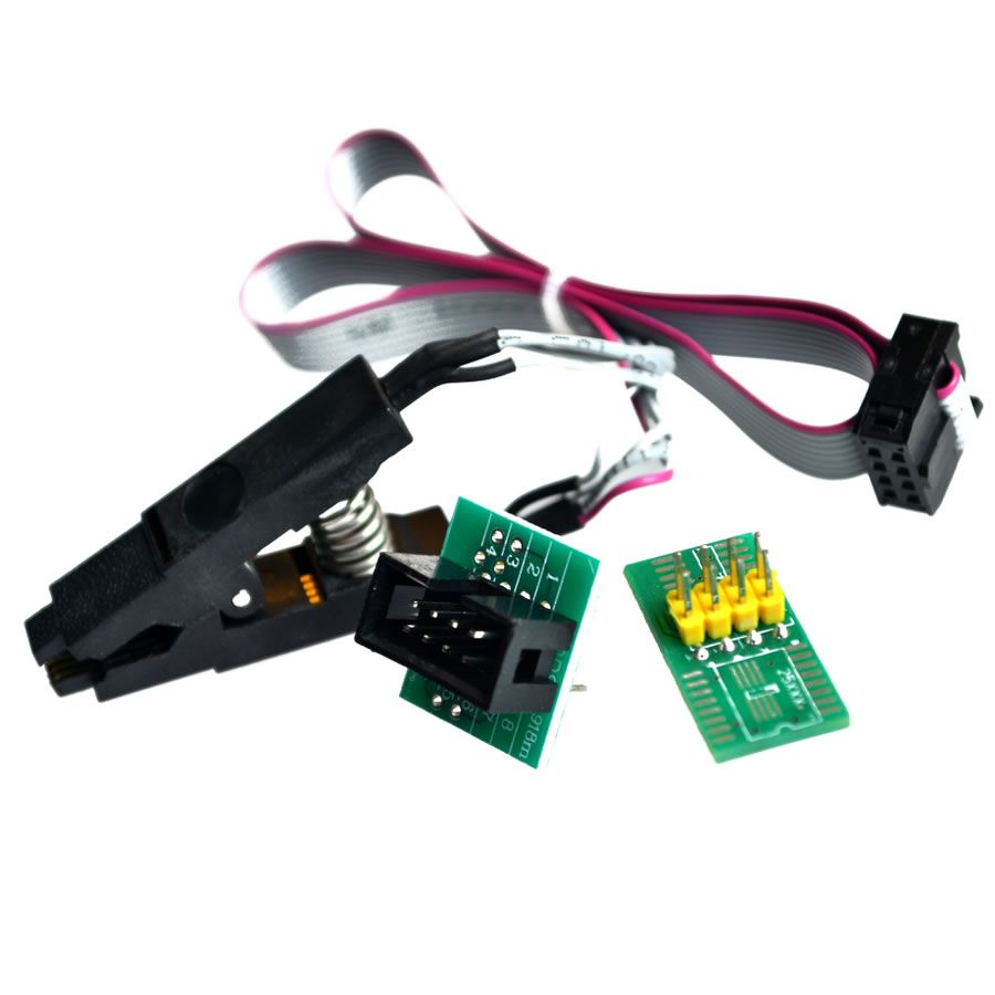 CH341A 24 25 Series EEPROM Flash BIOS USB Programmer Module + SOIC8 SOP8 Test Clip For EEPROM 93CXX / 25CXX / 24CXX DIY KIT