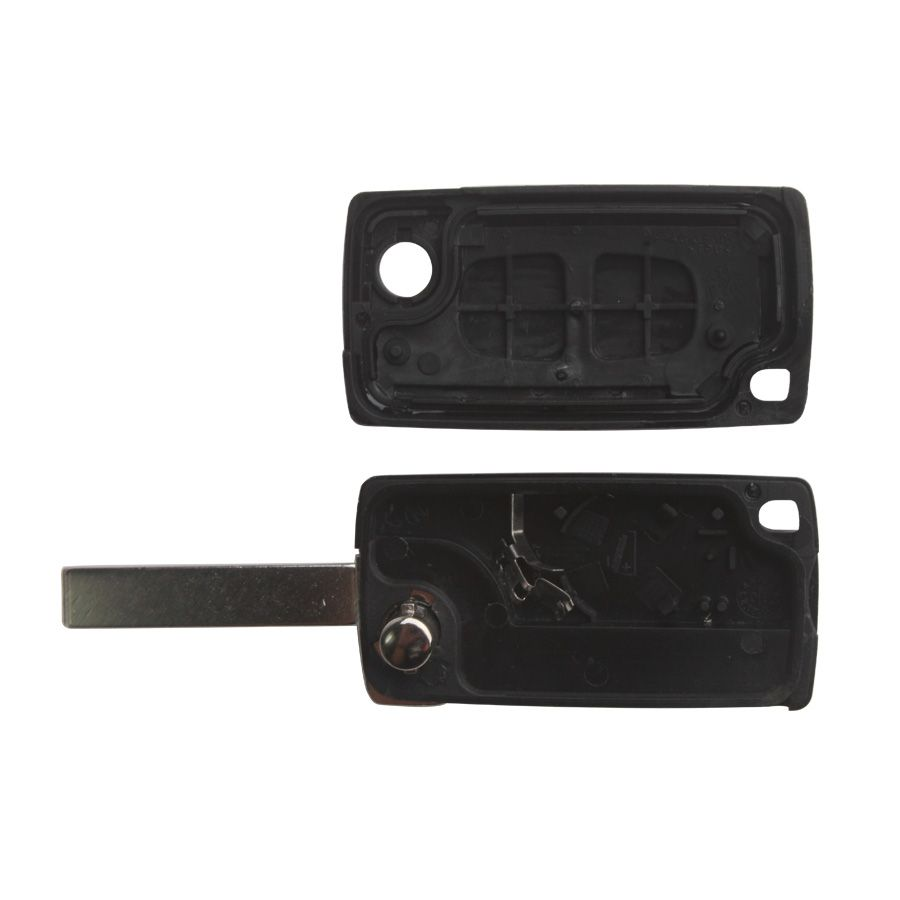 Remote Key Shell 2 Button HU83 2B (with Groove) for Citroen 5pcs/lot