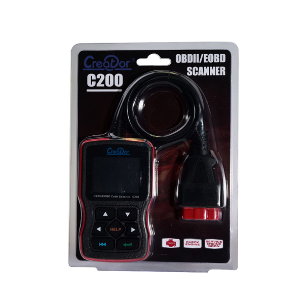 Creator C200 OBDII/EOBD Code Reader Multi-Language Update Online