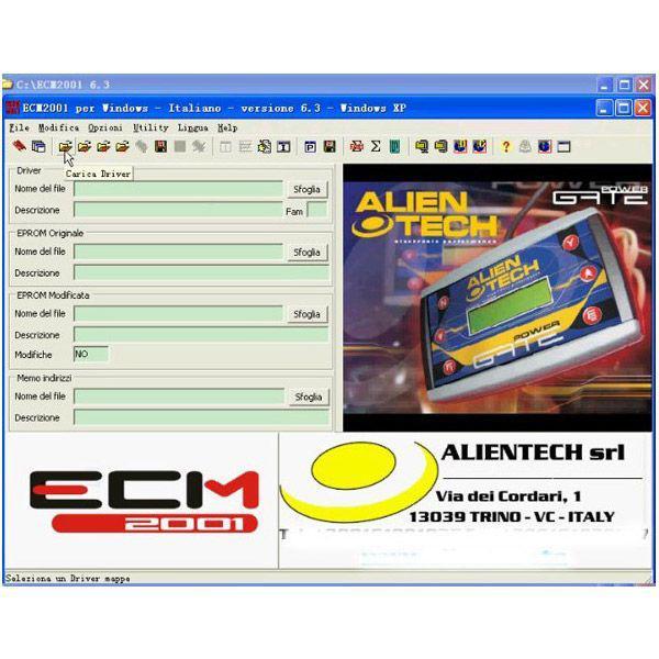 ECM Chip Tuning 2001 V6.3
