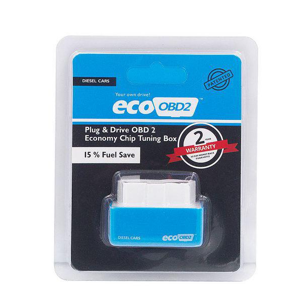 Plug And Drive EcoOBD2 Economy Chip Tuning Box For Diesel Cars 15% Fuel Save