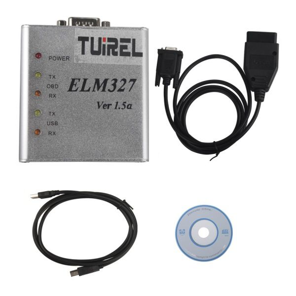 ELM327 1.5V USB CAN-BUS Scanner Software Software V2.1 Supports Two Platforms DOS And Windows.