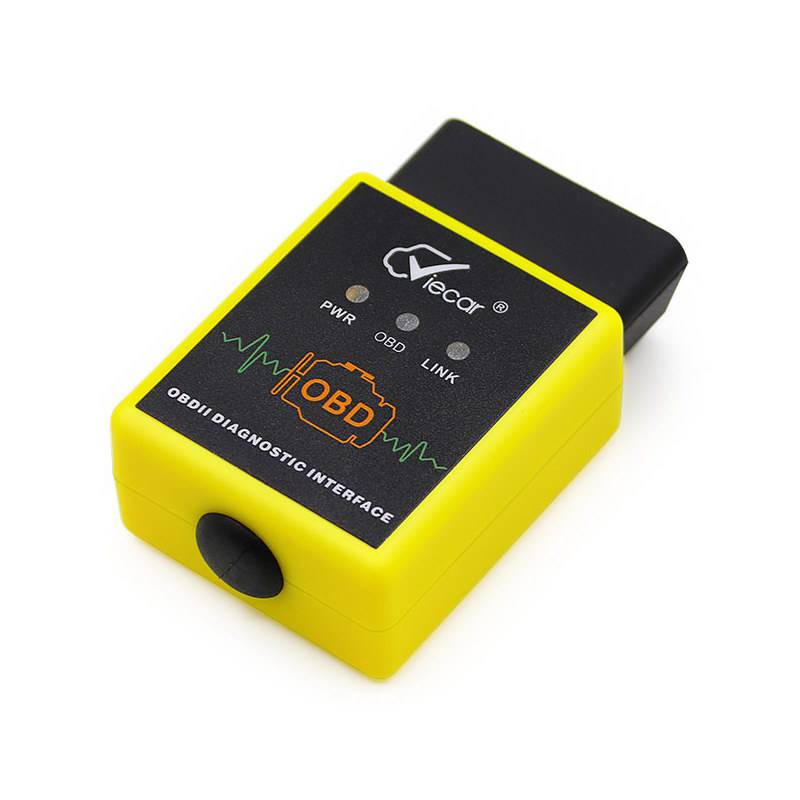 ELM327 V1.5 Viecar VC002-A Bluetooth Auto Code Reader Support 9 OBDII Protocol Works on Android Torque
