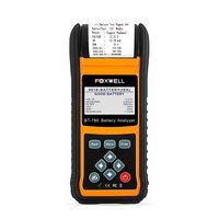 FOXWELL BT780 12V Battery Tester 0-1000A Car AGM GEL EBP Batteries Analyzer Built-in Printer 12V-24V Starting Charging System