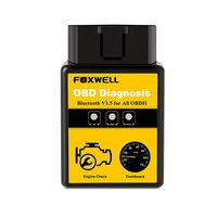 Foxwell OBD2 EOBD Automotive Scanner ELM327 Bluetooth Version Engine Code Reader OBDII OBD 2 Auto Scanner Car Diagnostic Tool