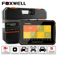 Foxwell GT60 Plus Full System OBD2 Automotive Scanner Actuation&Coding ABS Bleeding DPF Code Reader OBD 2 Car Diagnostic Tool