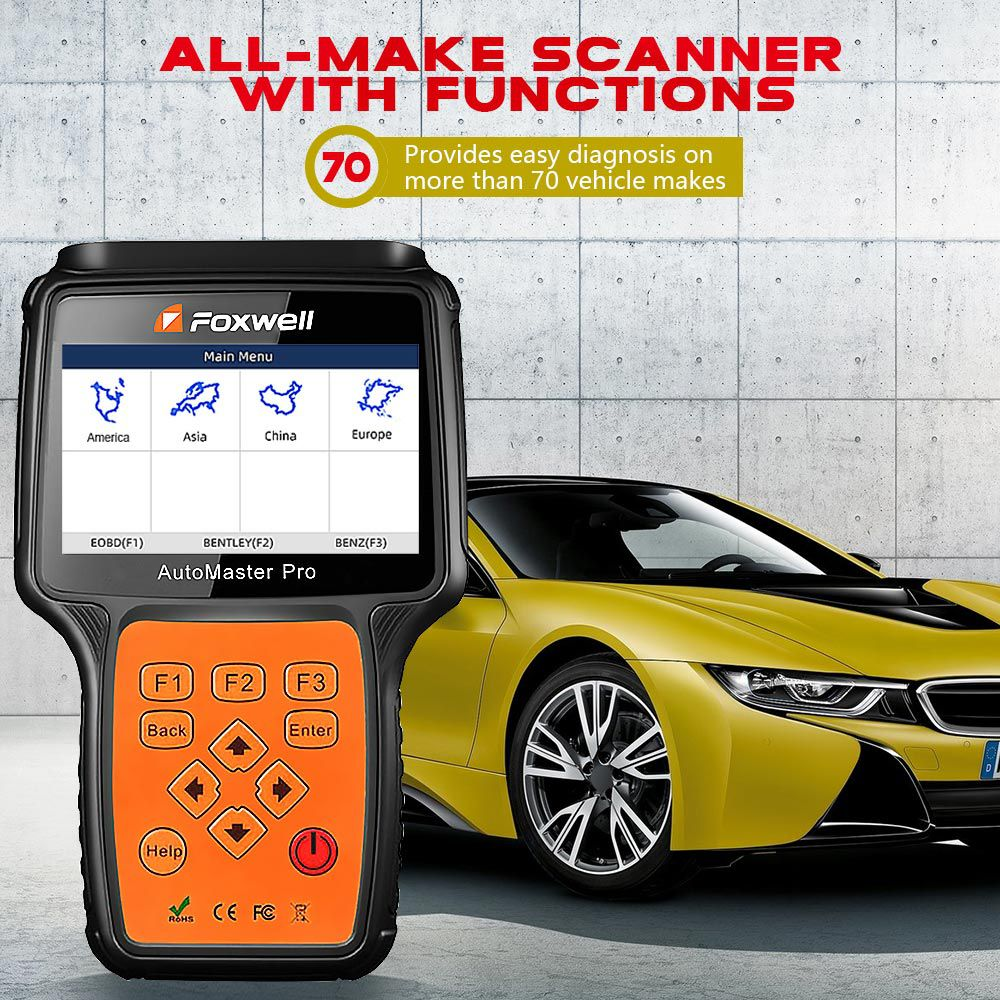Foxwell NT680 Pro All System All Makes Scanner with Special Functions Updated Version of NT644 Pro