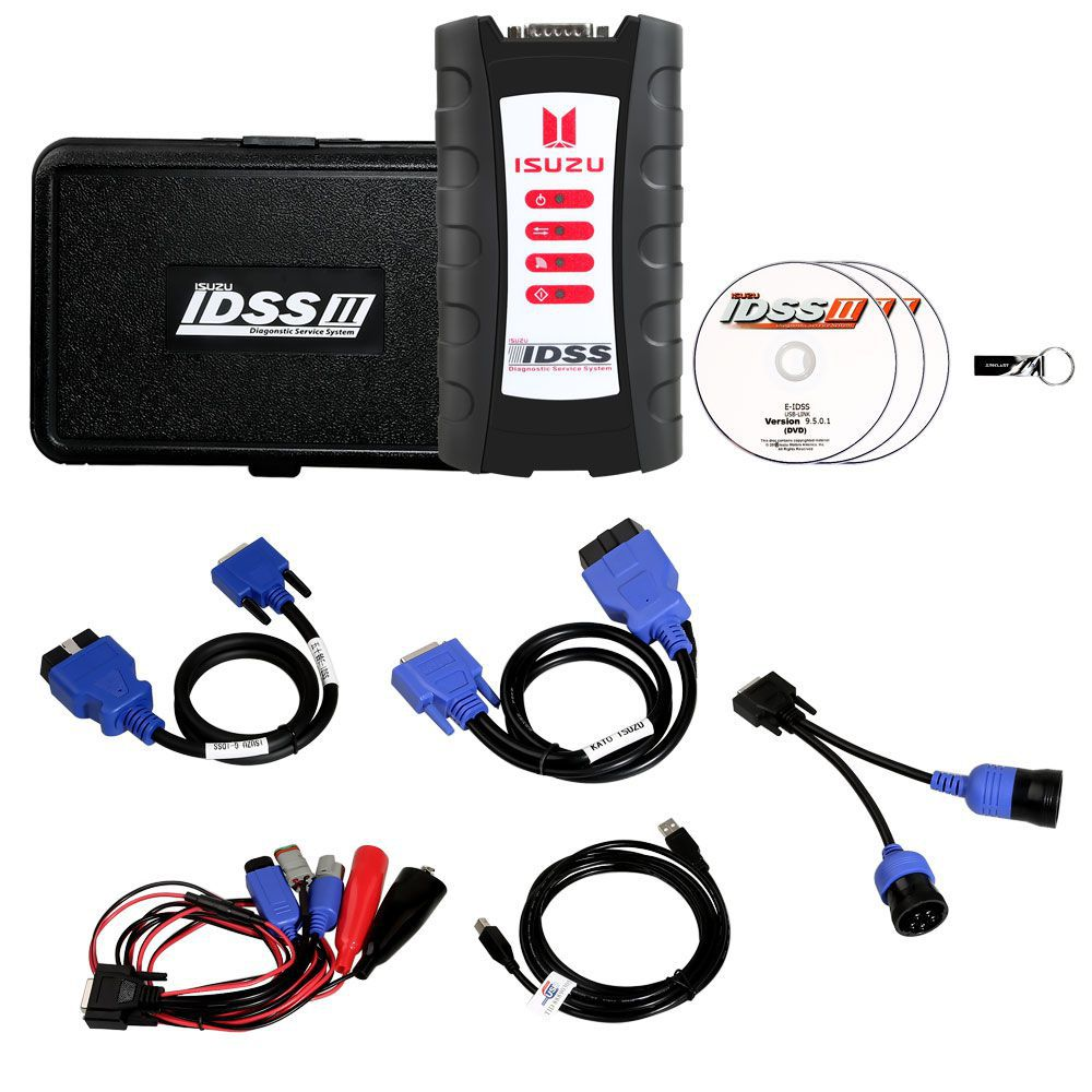 G-IDSS 2018 For ISUZU Truck Bus on-high Way engine Diagnostic kit