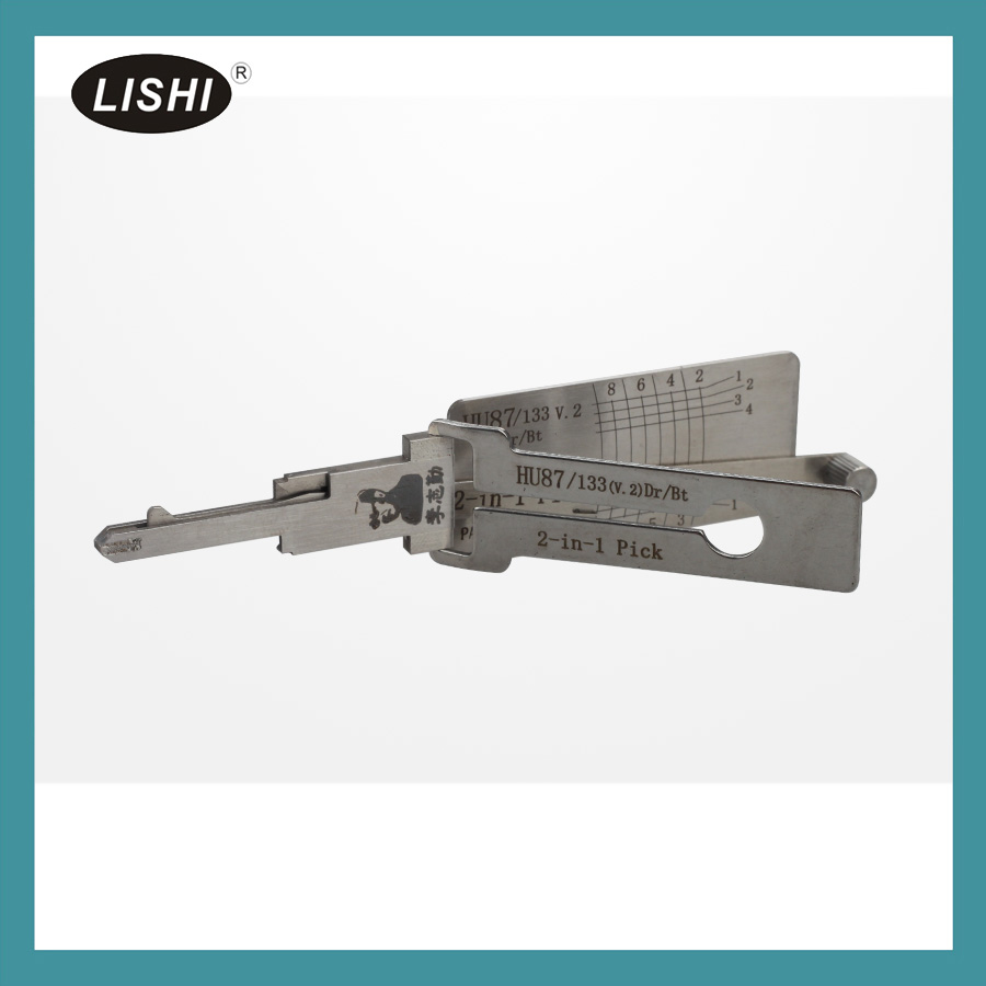 LISHI Genuine HU87 2-in-1 Auto Pick and Decoder