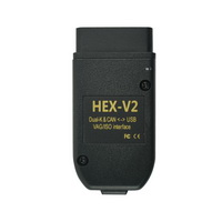 HEX-V2 HEX V2 Dual K & CAN USB VAG Car Diagnostic interface V20.42 for Volkswagen Audi Seat Skoda