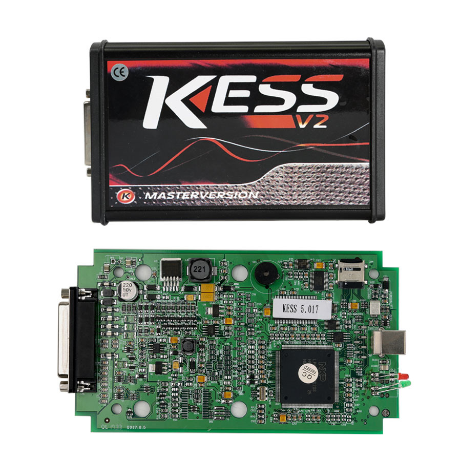 Kess V5.017 EU Version with Green PCB Online Version Support 140 Protocol No Token Limited