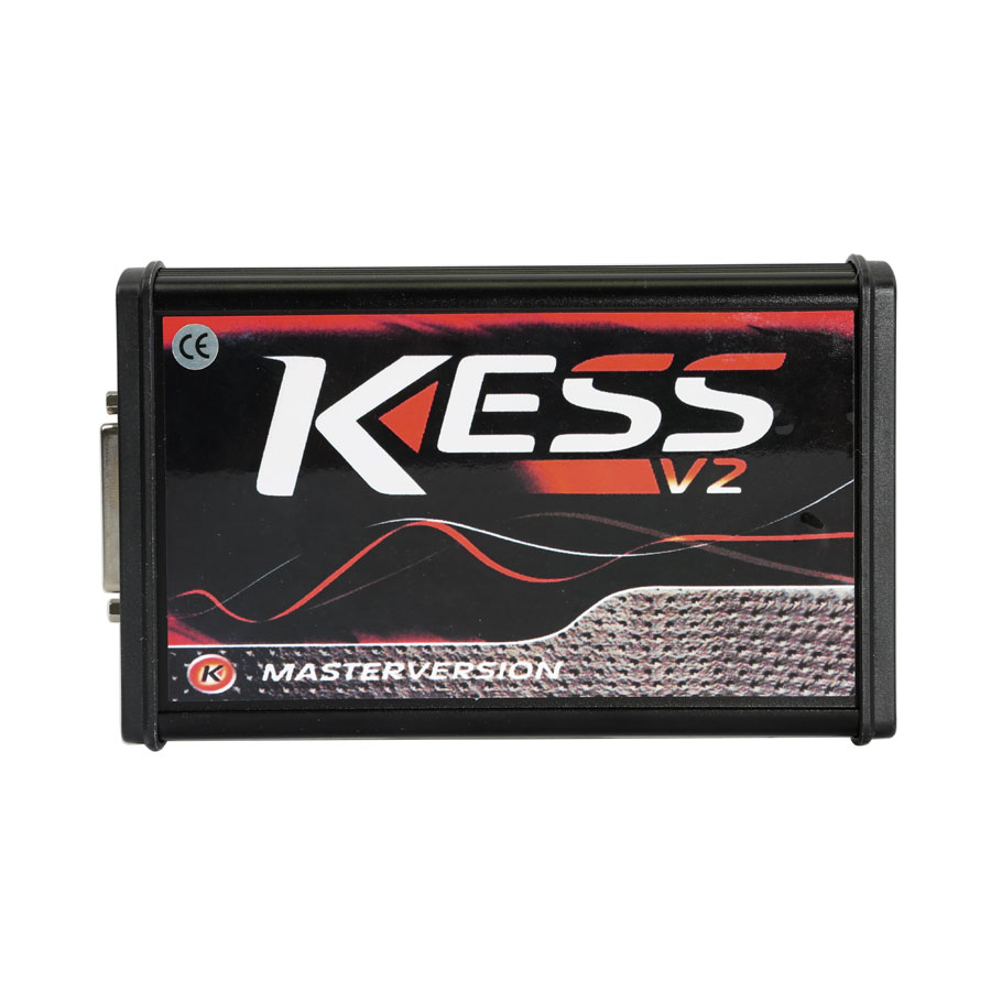 Kess V2 ECU Programmer V5.017 EU Version with Red PCB Online Version Support 140 Protocol No Token Limited