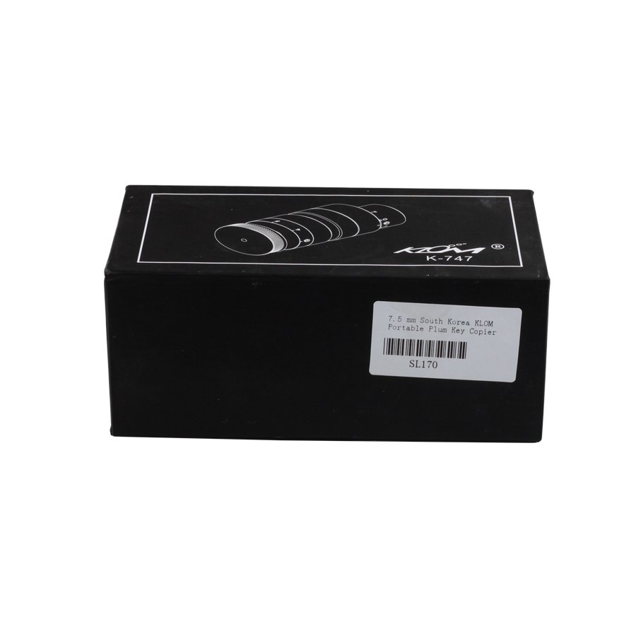 7.5 mm South Korea KLOM Portable Plum Key Copier