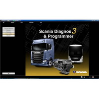 Scania SDP3 2.41.1 Diagnosis & Programming for VCI 3 VCI3 without Dongle