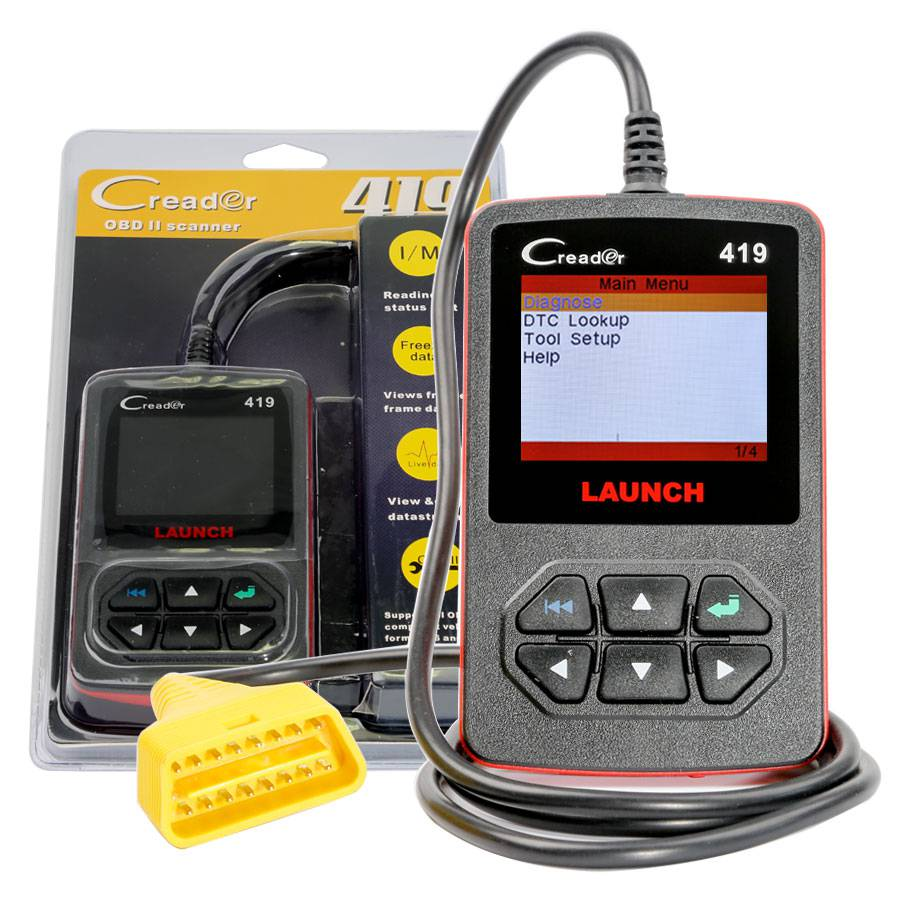 Launch CReader 419 DIY Scanner OBDII/EOBD Code Reader
