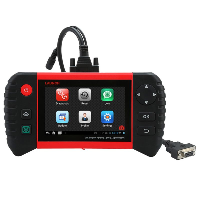 Launch Creader CRP Touch Pro Full System Diagnostic EPB/DPF/TPMS/ Service Wi-Fi Update Online Car/Auto Diagnostic Scanner