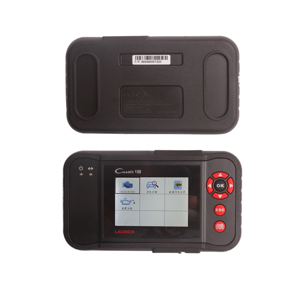 Launch Creader VIII reset the brake/oil/SAS light automotive scanner diagnostic tool for car code reader