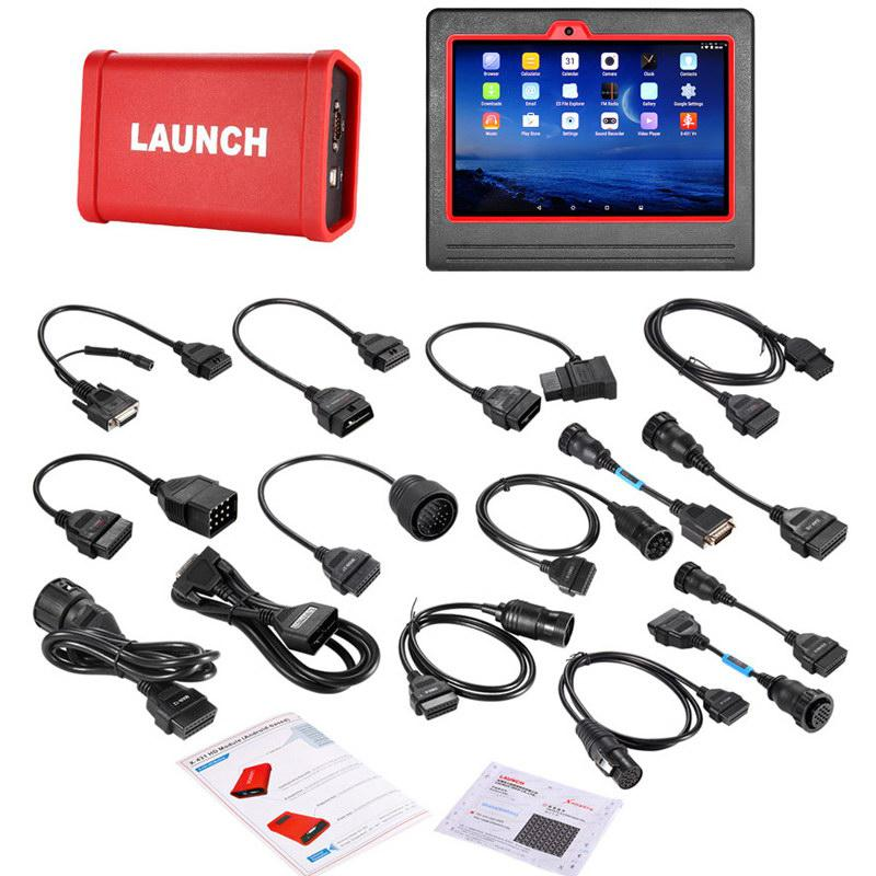 Original Launch X431 V+ Wifi/Bluetooth Plus HD Heavy Duty Truck Diagnostic Module (2-in-1set)