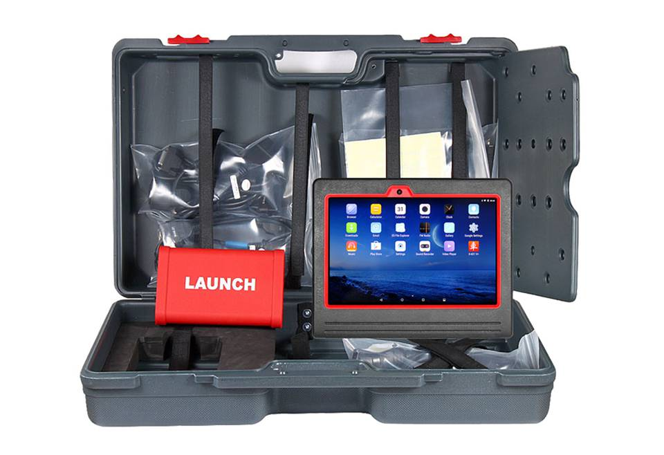 Original Launch X431 V+ Wifi/Bluetooth Plus HD Heavy Duty Truck Diagnostic Module