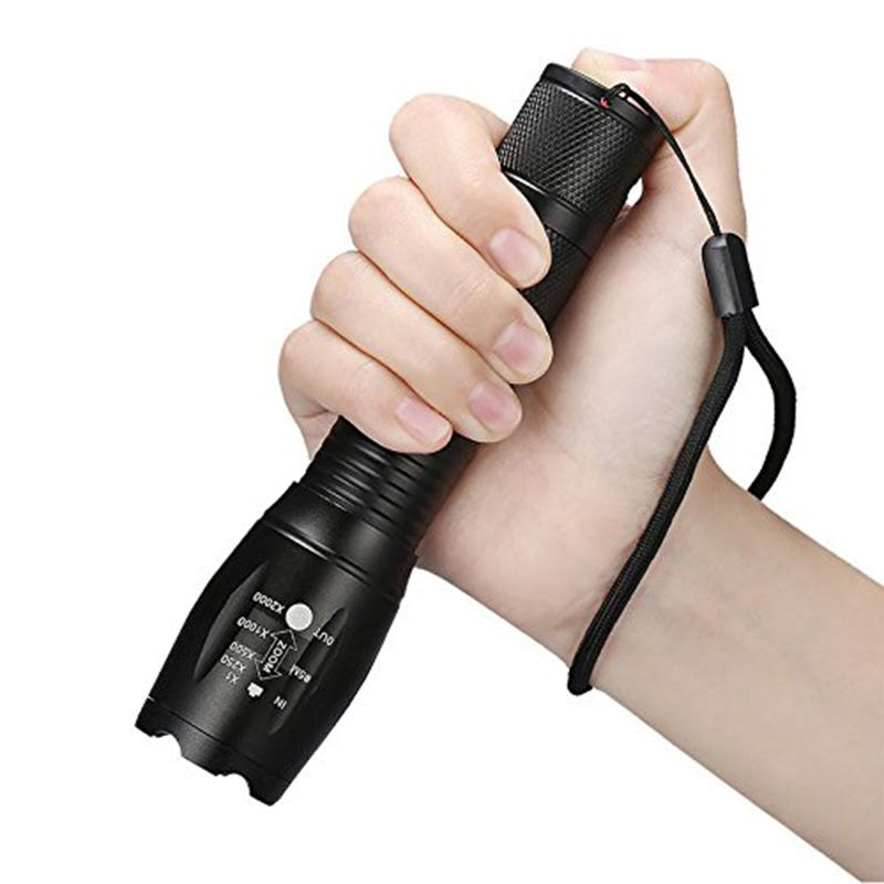 Led Flashlight XML T6 Linterna Torch
