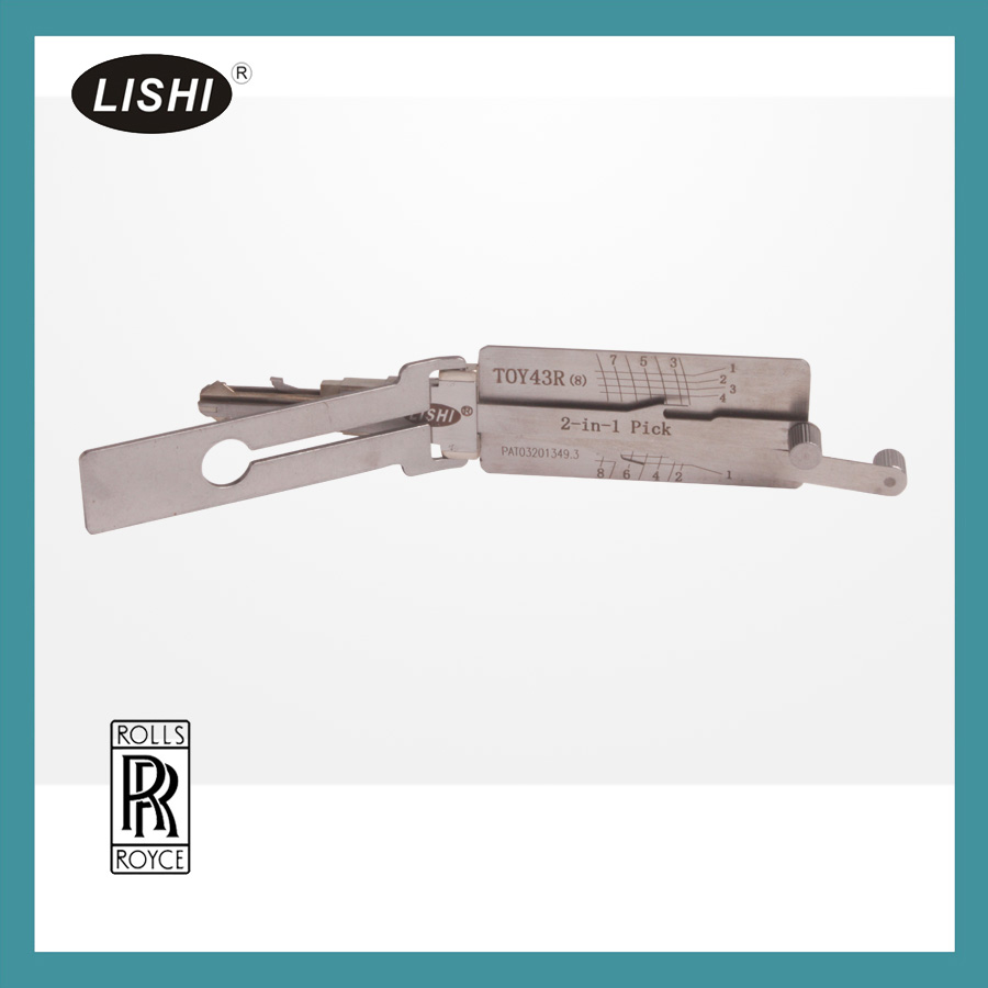 Lishi TOY43R 2-in-1 Pick and Decoder (8 pin )