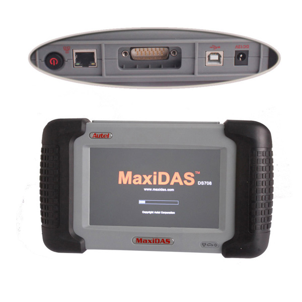 Original Autel MaxiDAS® DS708 DS708 Scanner With Multi-language