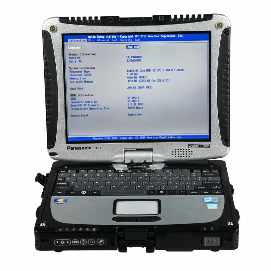 V2020.3 MB SD C4 Plus Support Doip with SSD Plus Panasonic CF19 I5 4GB Laptop Software Installed Ready to Use
