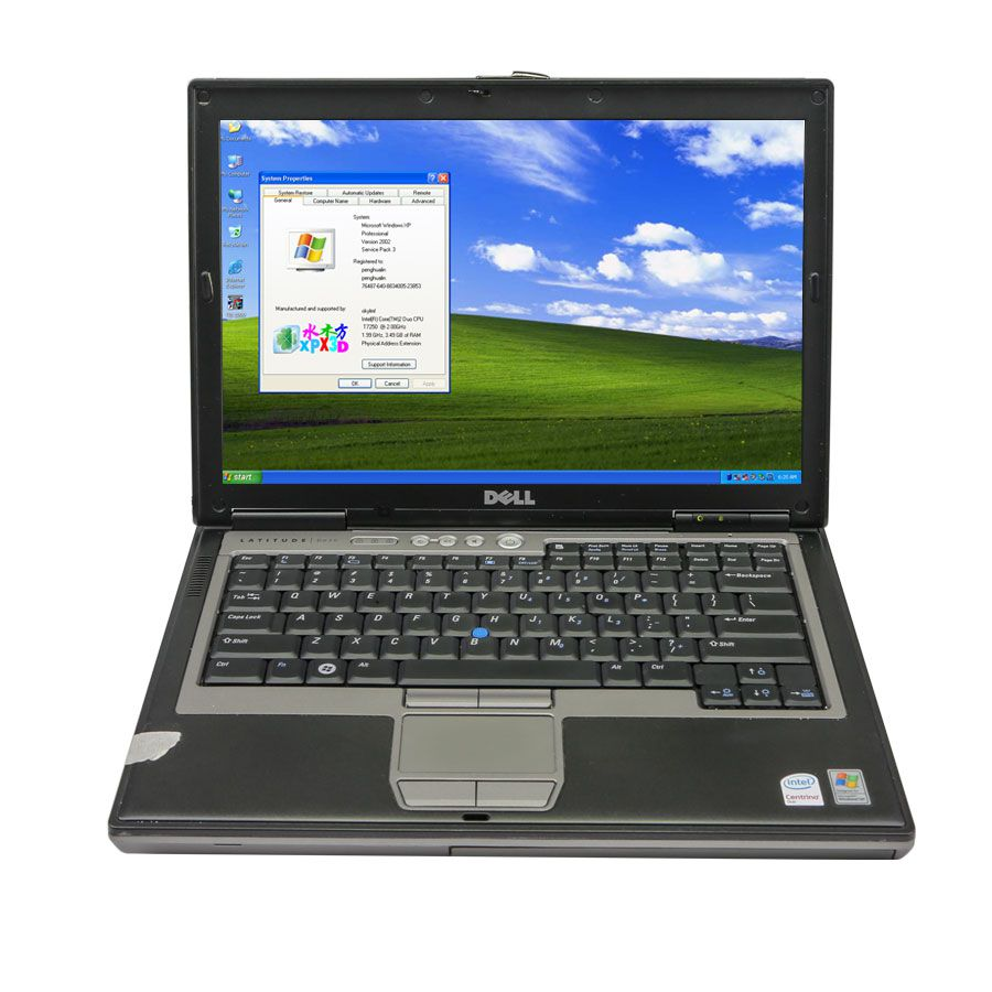 2020.10V MB SD C4 Plus Support Doip with Dell D630 Laptop 4GB Memory Software Installed Ready to Use