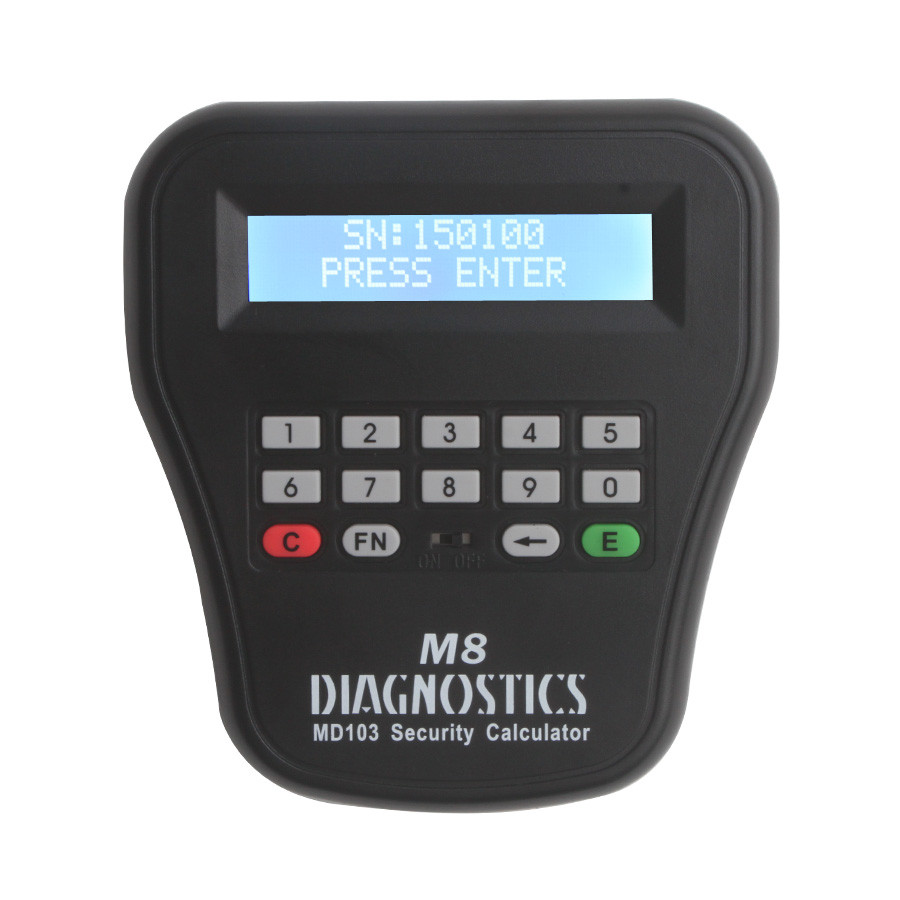 MD103 Security Calculator of The Key Pro M8 Auto Key Programmer