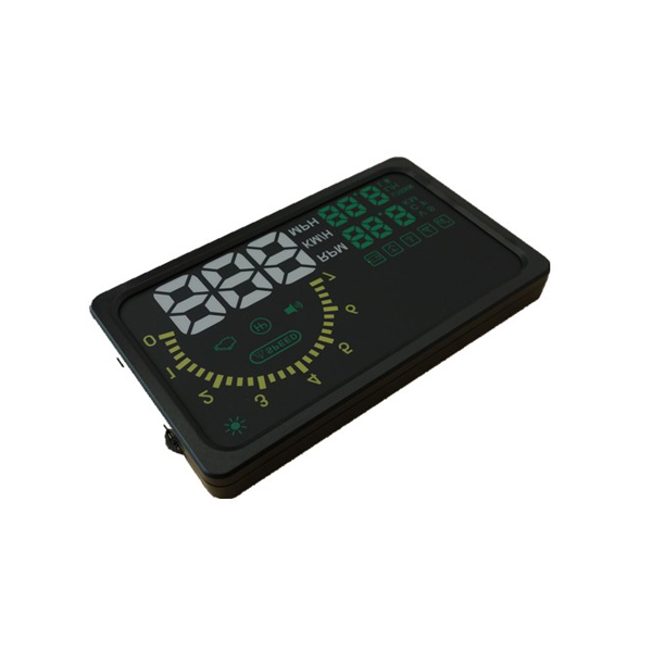"New 6"" LED OBD-II HUD Head Up Display Over Speeding Warning/ Speed/ Km rpm/ Shift Light/ Temperature Indicator I5"
