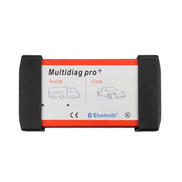 V2017.01 New Design Multidiag Pro+ For Cars/Trucks And OBD2 with Bluetooth Support Win8 Multi-Languages