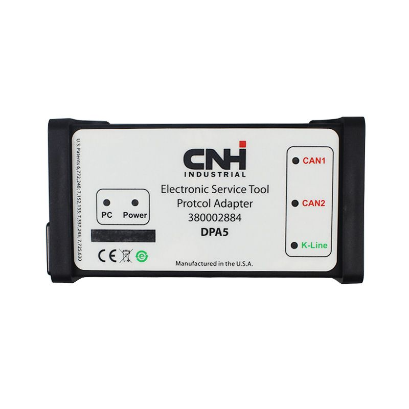 New holland CNH DPA5 v9.0 for Truck DPA 5 v9.2Heavy Duty Scanner Auto Diagnositc tool Same AsNEXIQ Without Bluetooth DPA5 v9.1