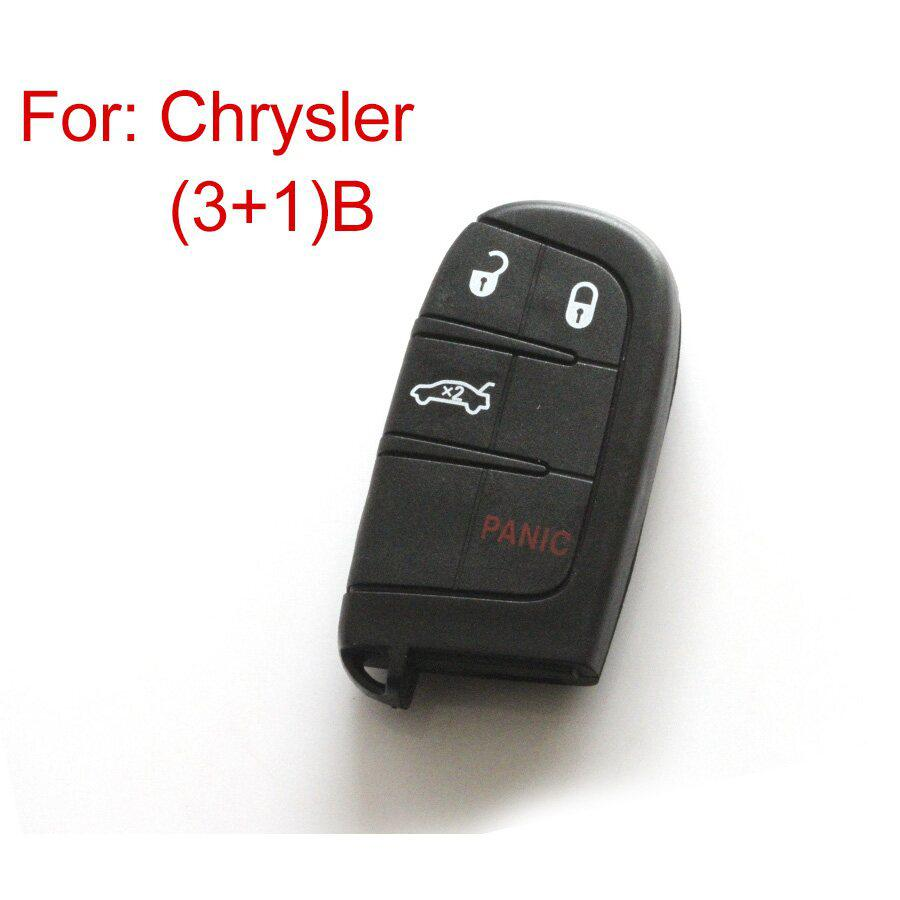 New Remote Key Shell 3+1 Button For Chrysler